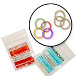 elastics (rubber bands)